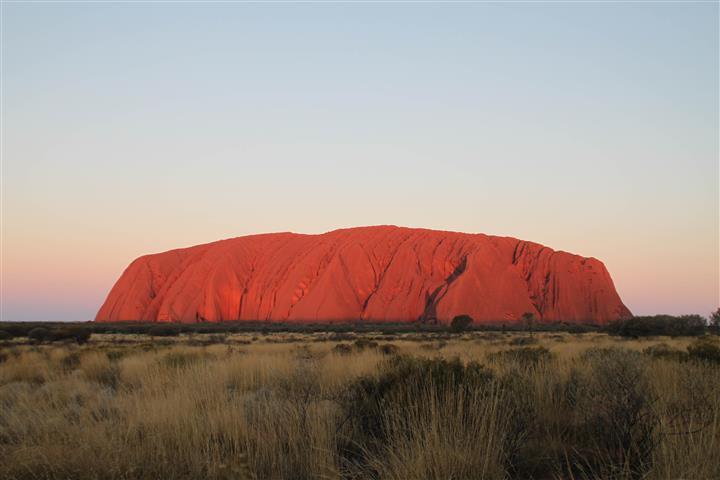 Australia ulura rock