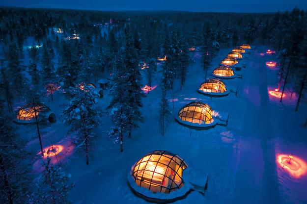 Igloo Village Kakslauttanen , Finlandia