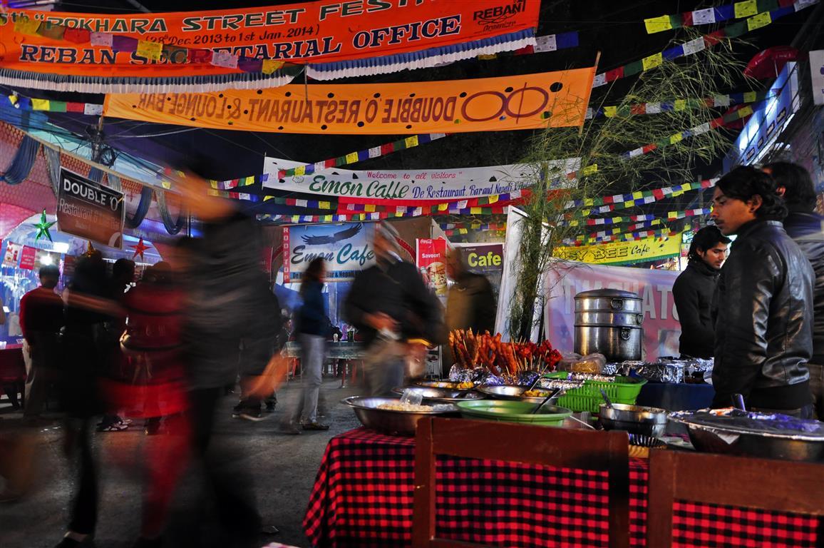 Pokhara street festival