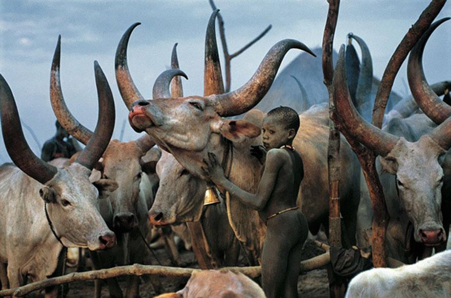 Dinka People Of Southern Sudan