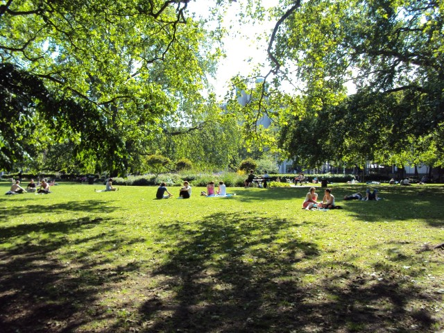 The Garden Squares of Bloomsbury
