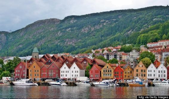 24. Bergen, Norway