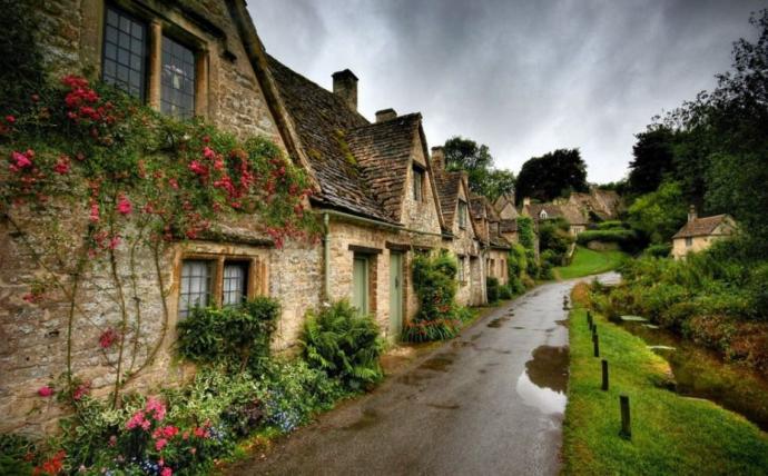 7. Bibury, England