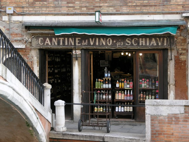 A great place in Venice for a glass of wine and some cicchetti.