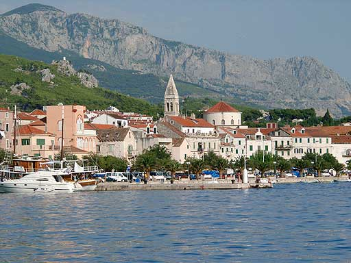 Makarska_from_port
